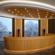 Kárómintás 3d tölgyfa falburkolat - recepció