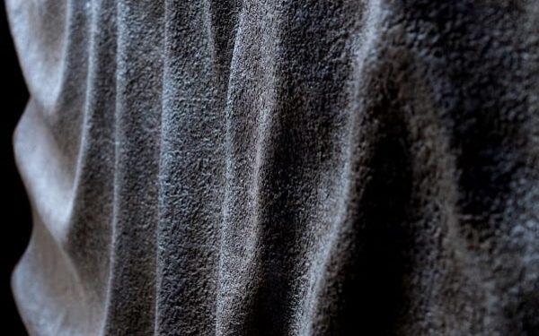 Viz, szél, hullámok, - antik vas 3d panel