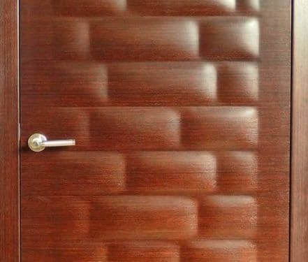 Bricks 3d fa beltéri ajtó
