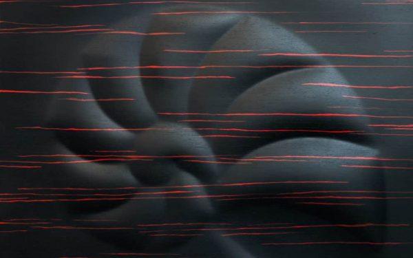 Csigaház 3d fa kép
