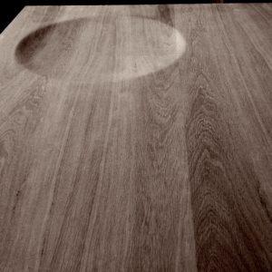 3d asztal bútor fa felület tölgy dohányzó süllyesztett