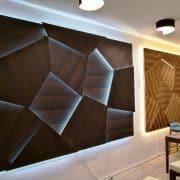 jégtáblás 3d falpanel füstölt tölgy 3d wallpanel wallcovering lobby wall panel design available